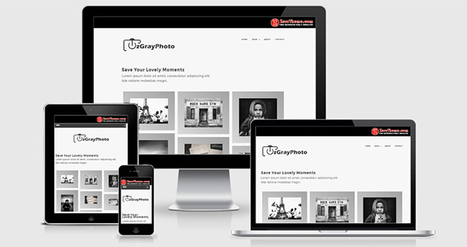 097. ZgrayPhoto free responsive bootstrap template