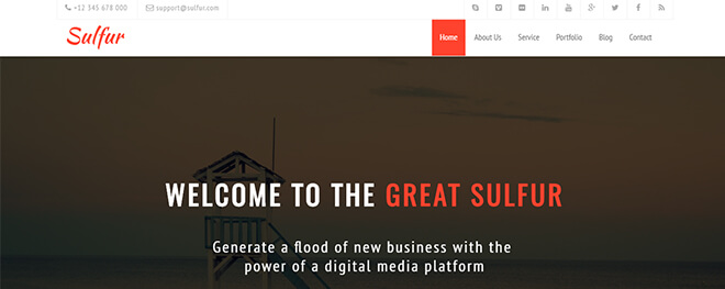 10.-Sulfur business website design template
