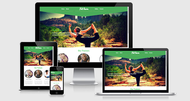 101. Fat Burn free responsive bootstrap template