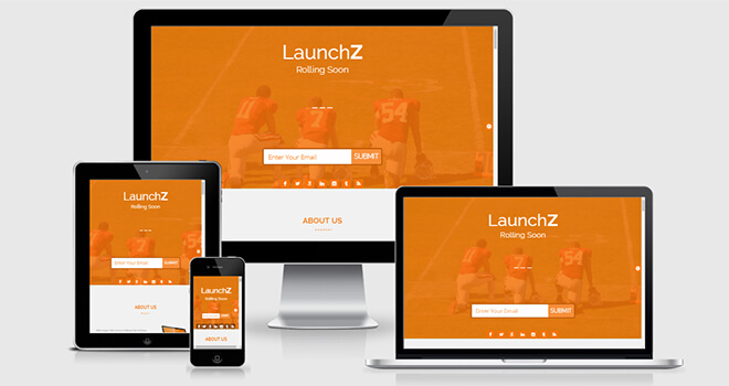 111. LaunchZ free responsive bootstrap template