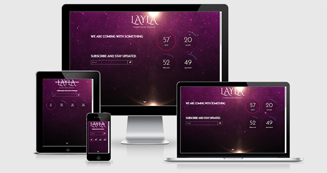 112. Layla free responsive bootstrap template