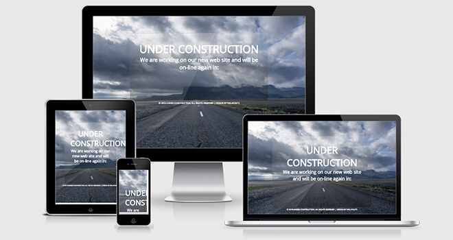 118. Construct free responsive bootstrap template