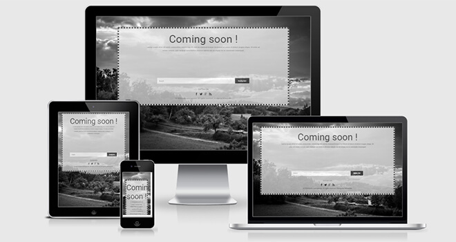 120. Dark free responsive bootstrap template