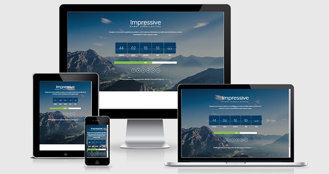 123. Impressive free responsive bootstrap template