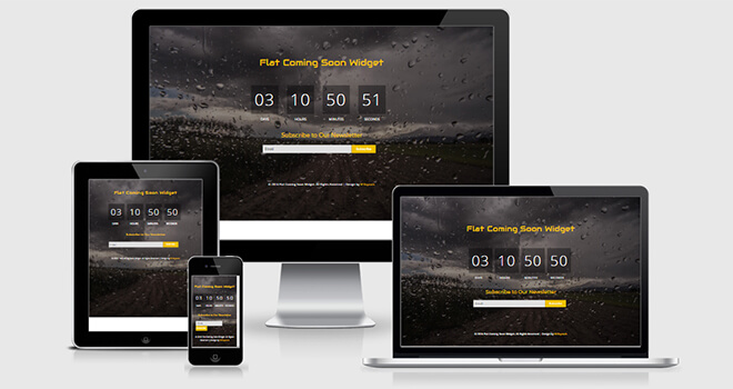 127. Soon free responsive bootstrap template