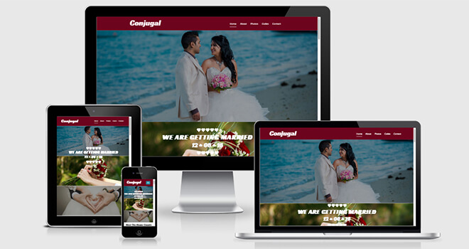 140. Conjugal free responsive bootstrap template