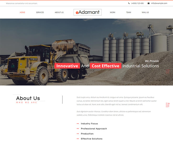 18.-Adamant business website design template