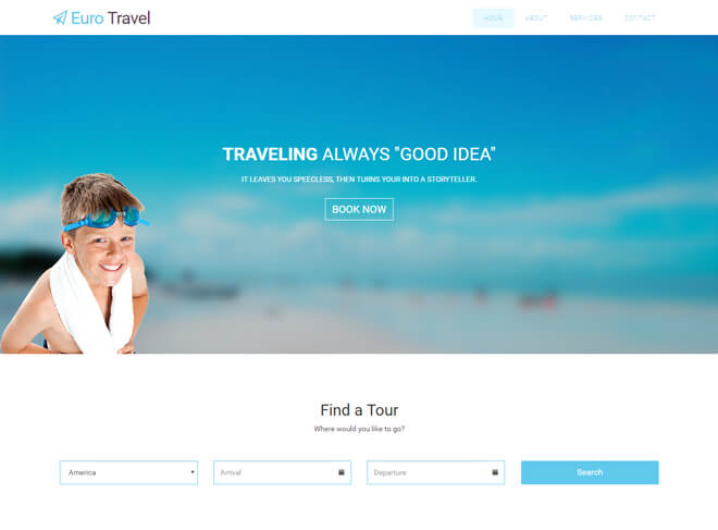 01.-Euro-Travel-travel website html5 bootstrap template