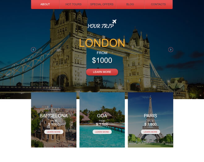 03.-Your-Trip-travel website html5 bootstrap template