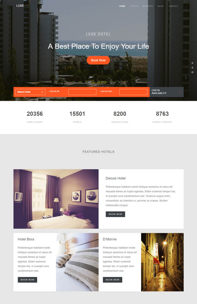 06.-Luxe-travel website html5 bootstrap template