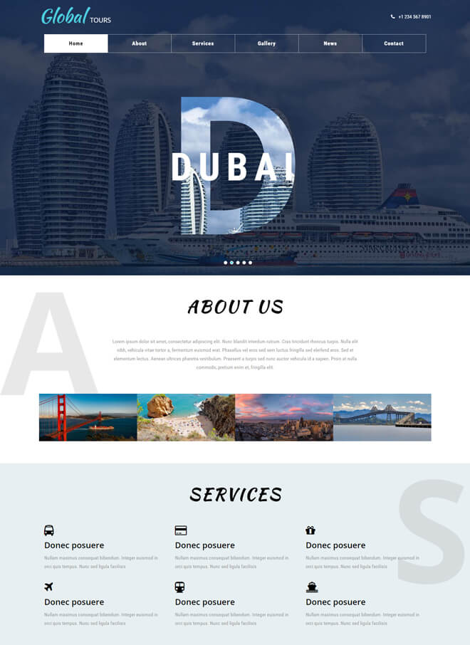 09.-Global-Tour travel website html5 bootstrap template