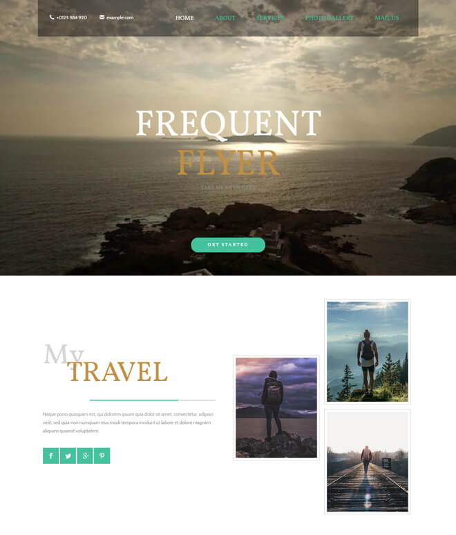 10.-Frequent-Flyer-travel website html5 bootstrap template