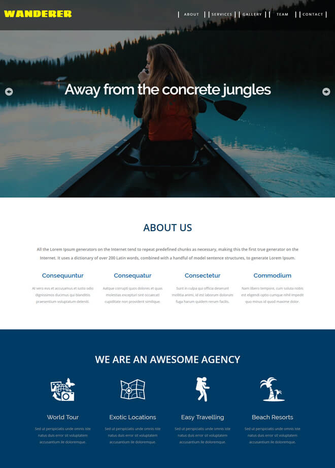 14.-Wanderer-travel website html5 bootstrap template