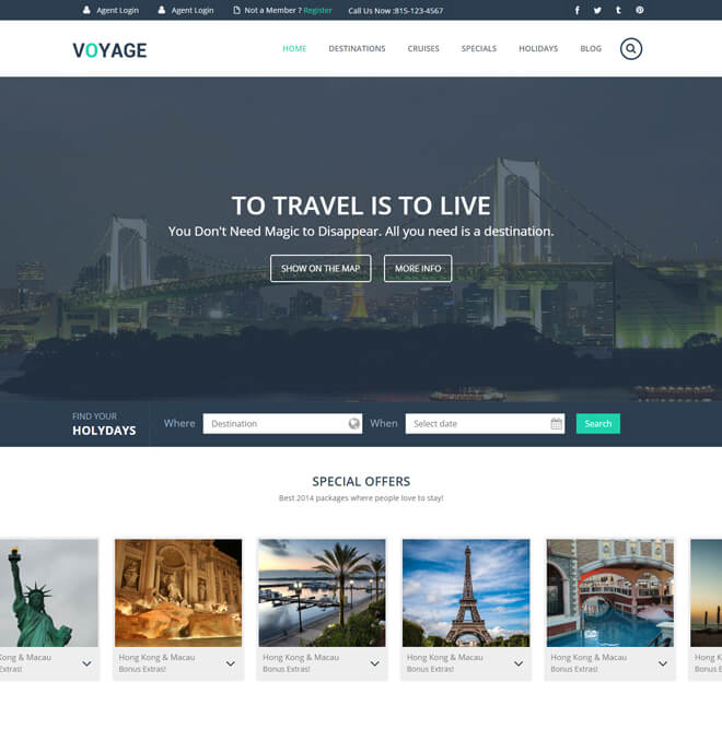16.-Voyage-travel website html5 bootstrap template