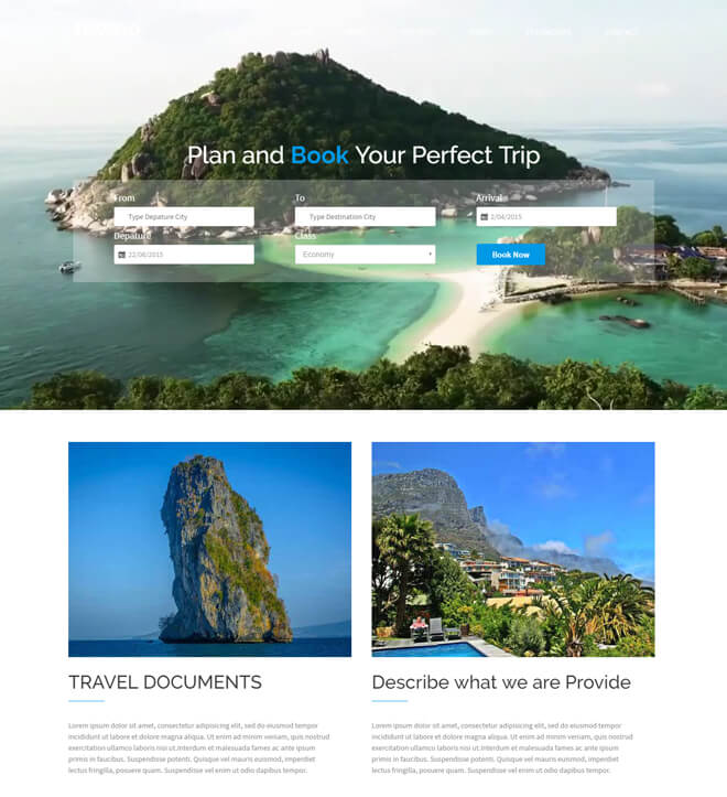 18.-Travelo-travel website html5 bootstrap template