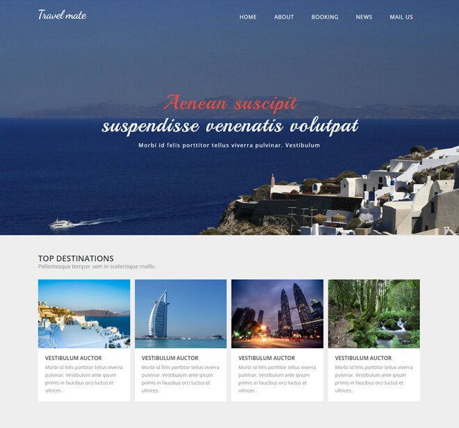 21.-Travel-Mate-travel website html5 bootstrap template