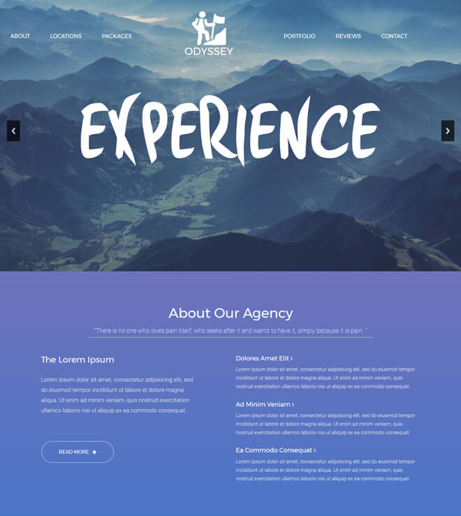 22.-Experience-travel website html5 bootstrap template