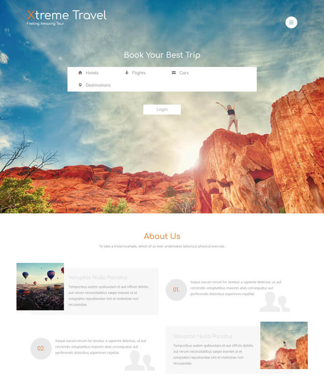 25.-Extreme-Travel-travel website html5 bootstrap template