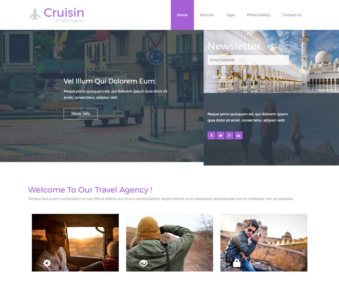 29.-Cruisin-travel website html5 bootstrap template