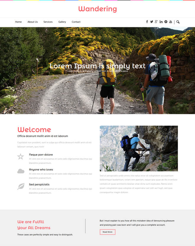 30.-Wandering-travel website html5 bootstrap template