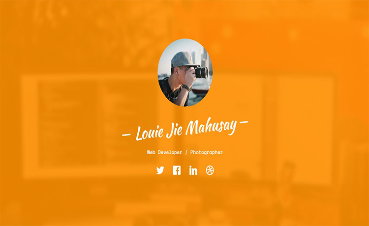 Free One Page Portfolio Bootstrap Template
