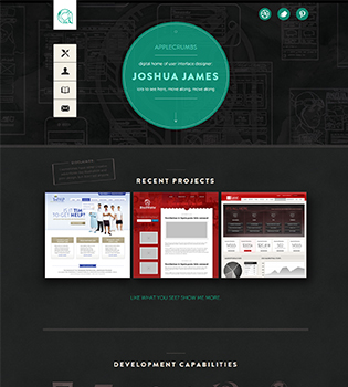 Design Inspirational Portfolio Website