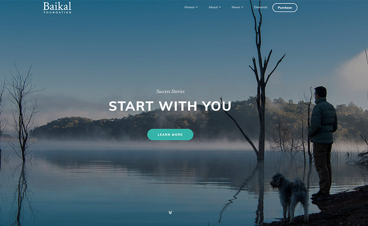 HTML5 Bootstrap video Background Template