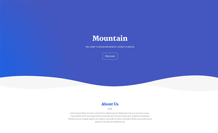 free bootstrap agency html5 template