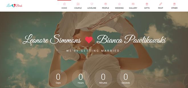 Wedding HTML Templates