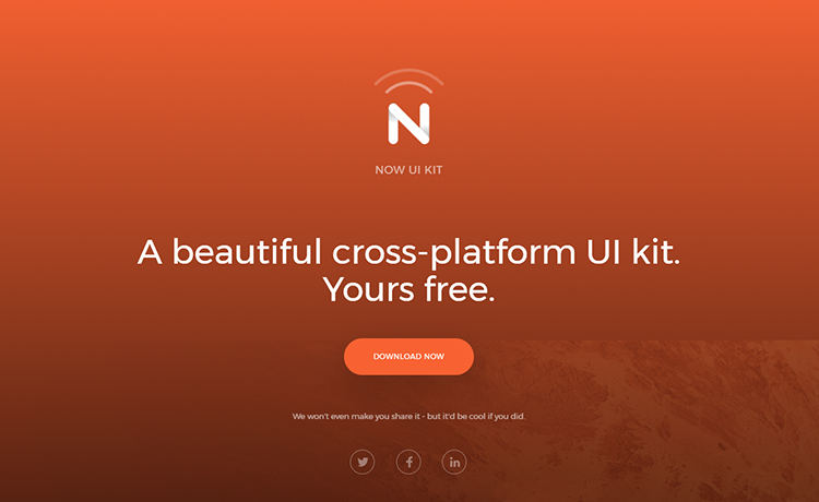 All New Bootstrap 4 UI Kit