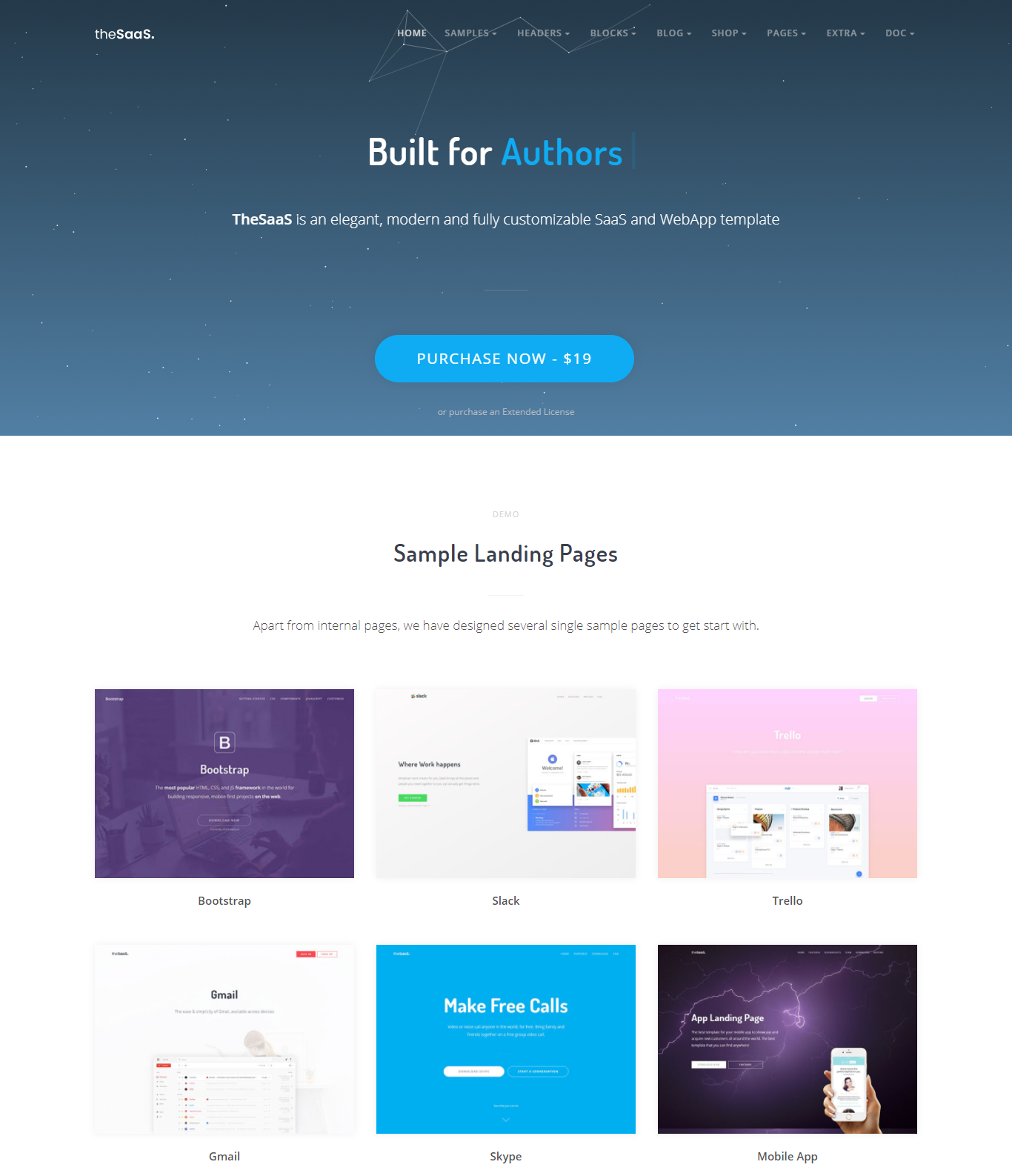 technology website templates