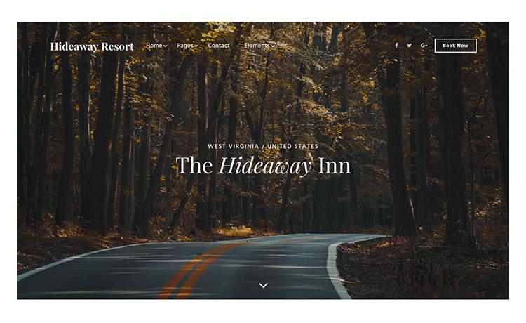 Luxury Inn & Resort HTML5 Website Template