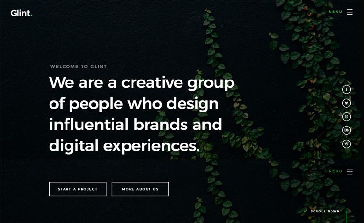 Stunning Free HTML5 Digital Agency Website Template