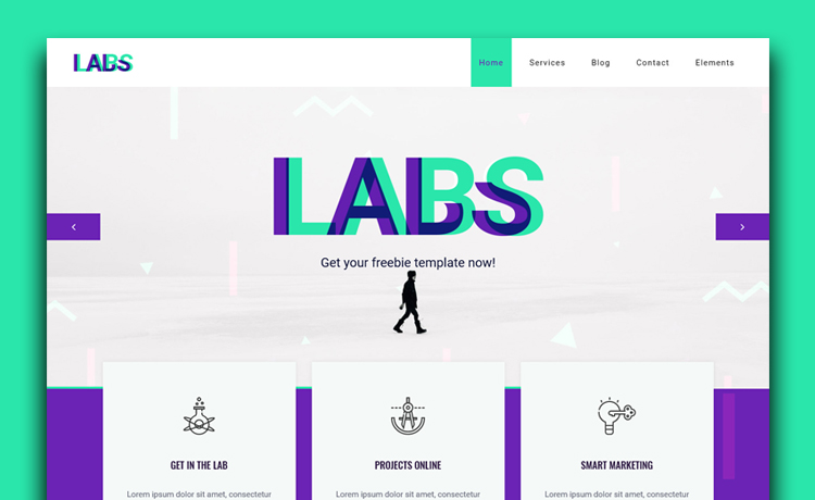 Free HTML5 Bootstrap Digital Agency Website Template