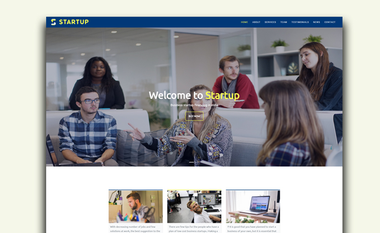 Startup - Bootstrap HTML5 Multipurpose Business Template