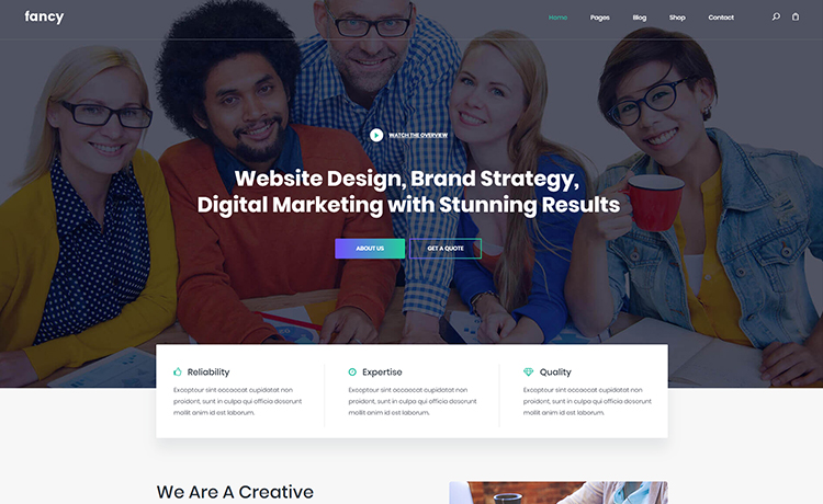 free bootstrap corporate template