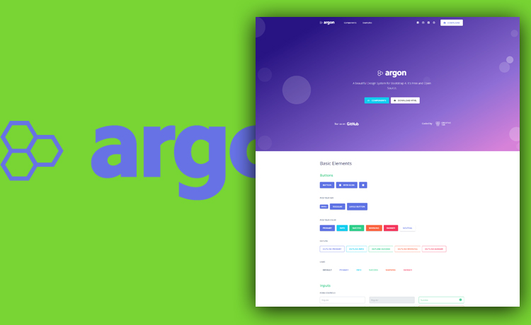 Free Bootstrap 4 Design System for Faster Web Projects