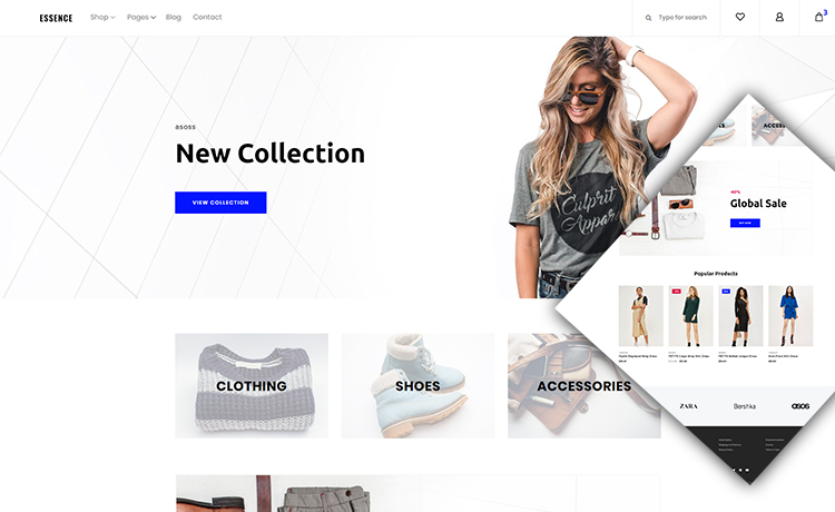 Free HTML5 eCommerce Bootstrap Template
