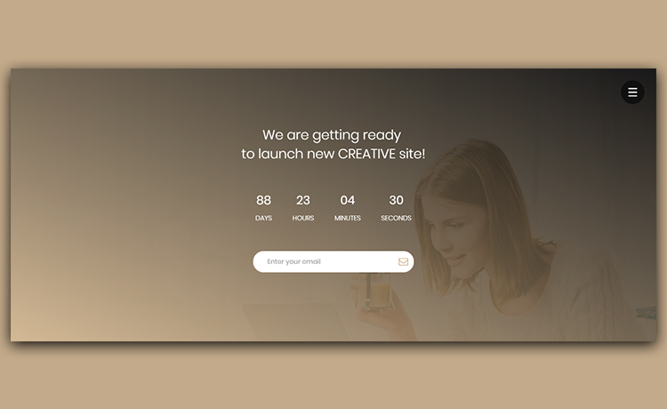 Free Coming Soon Responsive HTML5 Template