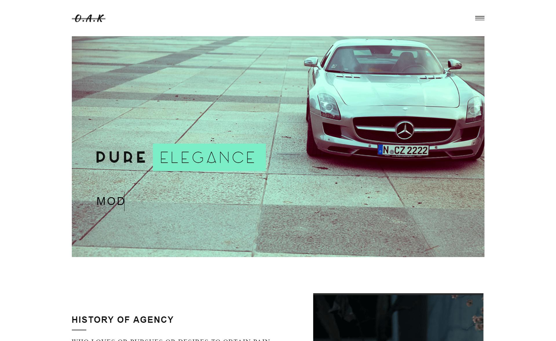 Creative and Elegant Free HTML5 Portfolio Template