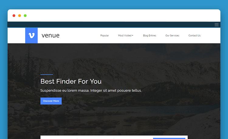Free HTML5 Multipurpose Website Template