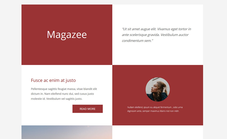 Magazee - free Bootstrap 4 HTML5 landing page template