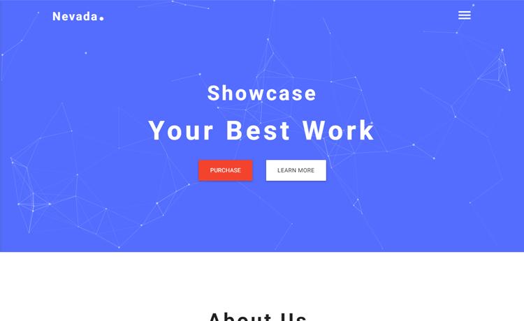 Free HTML5 creative agency website template