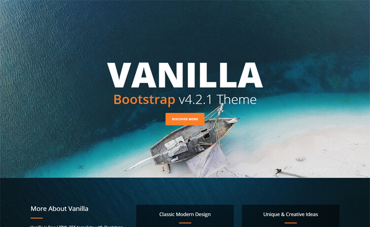 Free Responsive HTML5 CSS3 business template