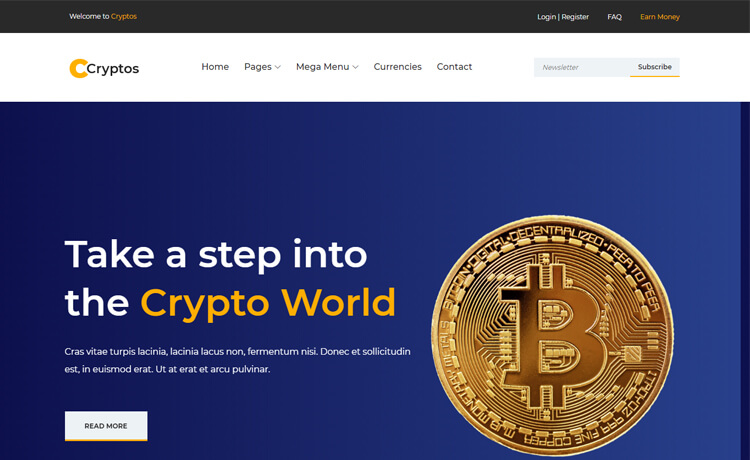 cryptocurrency coin template generator