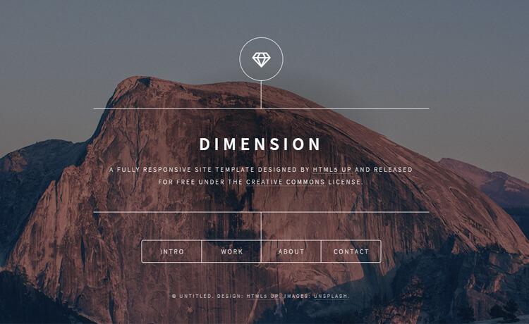 Free Responsive HTML5 Personal Portfolio Website Template
