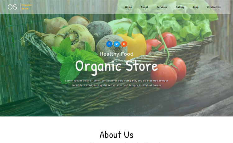 Free Bootstrap 4 HTML5 Agriculture Website Template