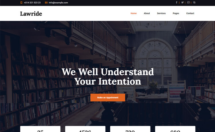 Free Bootstrap 4 HTML5 Consulting Agency Website Template