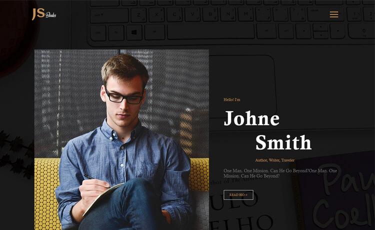 Free HTML5 Personal Portfolio Website Template