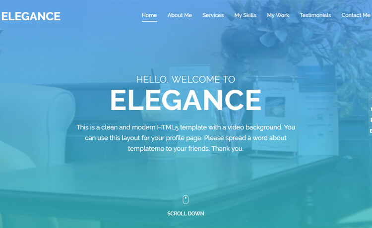 Free Bootstrap 4 HTML5 Professional Website Template